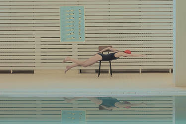 in swimming pool 3 by mariasvarbova