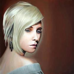 Portrait of Lady Shizuka by guidokleinhans