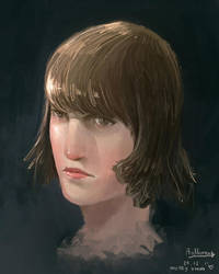 female face by anthonyhuynh