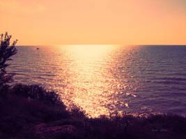 The Sea's evaporating by LuizaLazar