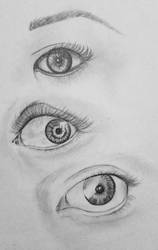 Eyes Concentration by ArtByJulia