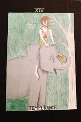 Temperance-Tarot Card by ArtByJulia