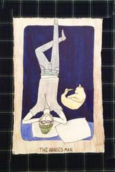 The Hanged Man- Tarot Card by ArtByJulia