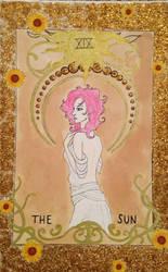 The Sun-Tarot Card by ArtByJulia