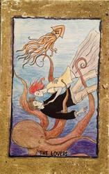 The Lovers-Tarot Card by ArtByJulia