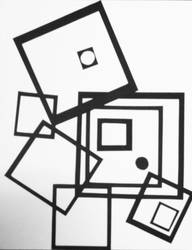 Deconstructing A Square by ArtByJulia