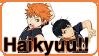 Haikyuu!! - Stamp by Kheila-S