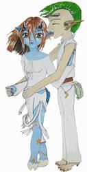 Pipershena and Kiethiernan by nada-ari