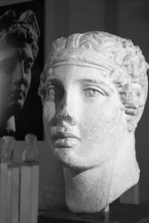 Roman bust of Sappho by genis007