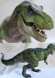 Papo Tyrannosaurus (JP3) by ak1508