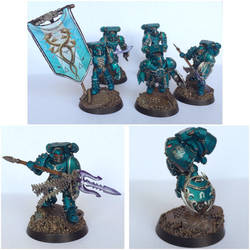 Pre-Heresy Alpha Legion Command Squad by ak1508