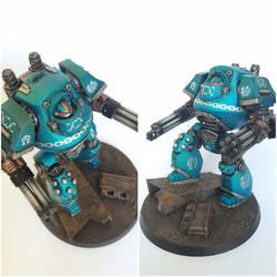Pre-Heresy Alpha Legion Contemptor Mortis Dread by ak1508