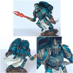 Pre-Heresy Alpha Legion Praetor by ak1508