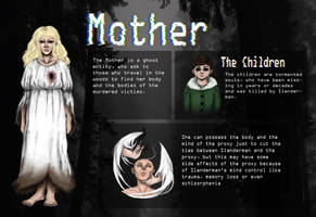 Slenderverse/Horror Oc Ref: The Mother by Rozaleine