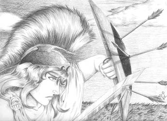 Athena: Goddess of War by K-Cota