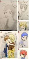 Sketches 4 by Karelcia
