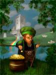 Lucky Leprechaun by mreach