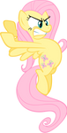 Fluttershy Monster by pokerface3699