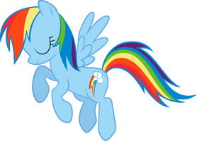 Rainbow Dash not Bowing by pokerface3699