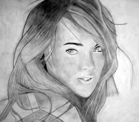 Lindsay Lohan by Laydee-Deathstrike