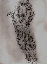 The Human Torch by Laydee-Deathstrike