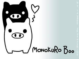 MonokuRo Boo by Laydee-Deathstrike