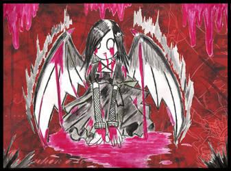 Blood Raven by Laydee-Deathstrike