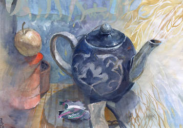 Teapot by ayjaja