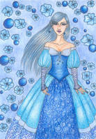 Blue Lady by blue-willow