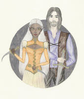 Liriel and Fyodor by blue-willow