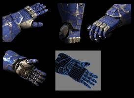 Terran Marine Hand by SgtHK