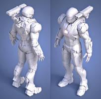 Iron Patriot W.I.P. by SgtHK
