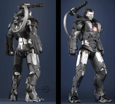 War Machine - Front and Rear by SgtHK