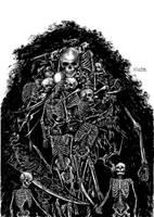 Gravelord Nito by gustavosasquatch