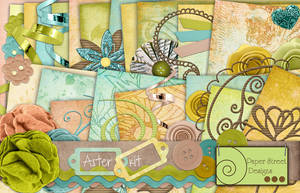 aster kit-paper street designs by paperstreetdesigns