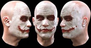 Zbrush Joker revisited by alexanderstojanov
