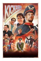 KICKASSIA official poster by alexanderstojanov