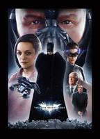 The Dark Knight Rises Poster by alexanderstojanov