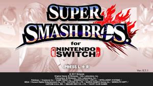 Smash Bros. for Switch Title Screen (Leak) by nintenworld-art