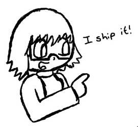[DW] Dimension Meme: Christie Ships It by Doodletones