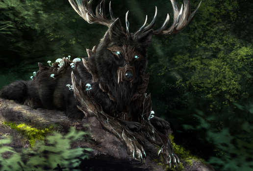 Forest king by Muns11