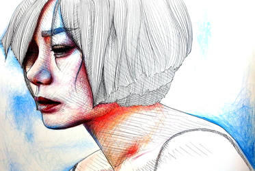 Bae Doona Colored Lineart by IsabelleMaria