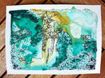 Geometric Abstract: Islands by IsabelleMaria