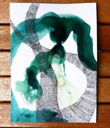 Green Tornado by IsabelleMaria