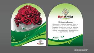 Rose Smile flyer by solo-designer