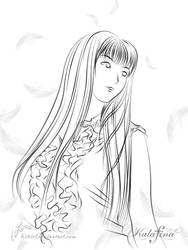 Trace K09: Keiko by lei8iel
