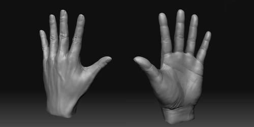 my hand by KenichiNishida