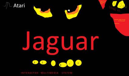 Atari Jaguar console (1993 version) by fazbear1980