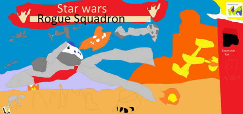 Star Wars Rogue Squadron (Expansion Pak) by fazbear1980