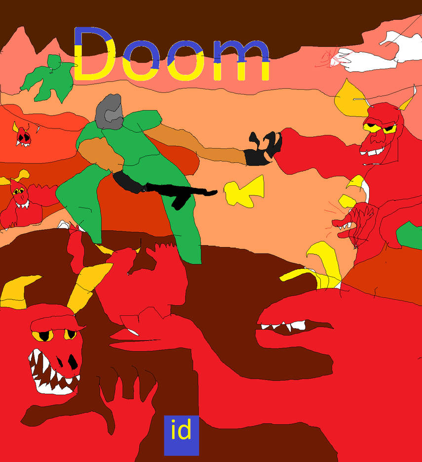 Doom (MS-DOS version) by fazbear1980